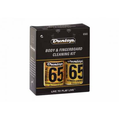 Dunlop 6503 Body & Fingerboard Care Kit