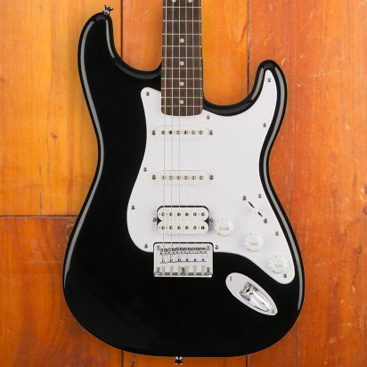 Squier Bullet Stratocaster with Tremolo, HSS, Black