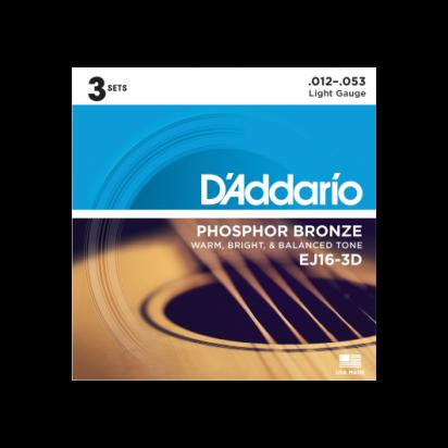 D'Addario EJ16/3D