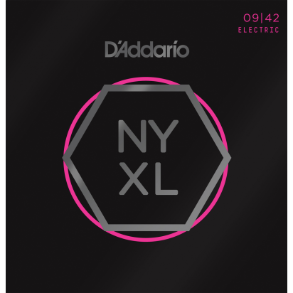 D'Addario NYXL0942, Super Light, 09-42