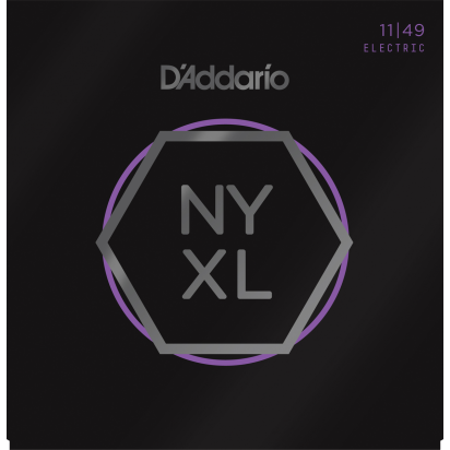 D'Addario NYXL1149, Medium, 11-49