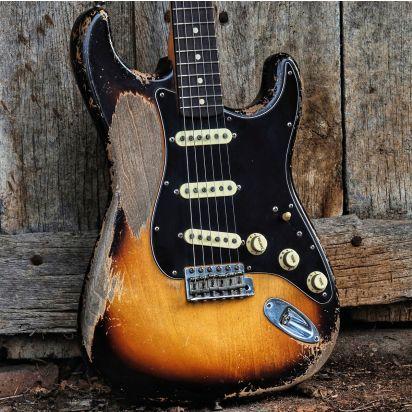 Fender CS 1963 Dale Wilson Masterbuilt Stratocaster 3TS Ultra Relic
