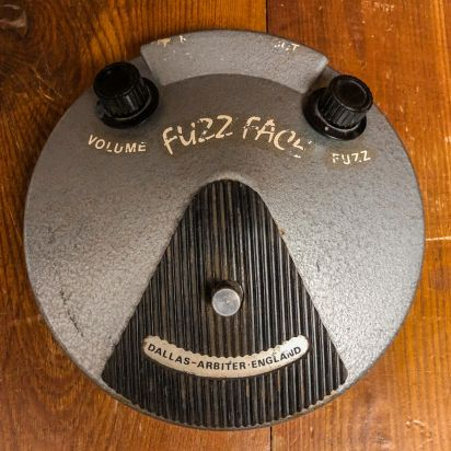 Dallas Arbiter Fuzz Face '71-'72