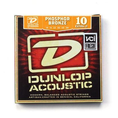 Dunlop Phosphor Bronze, Extra Light, 10-48