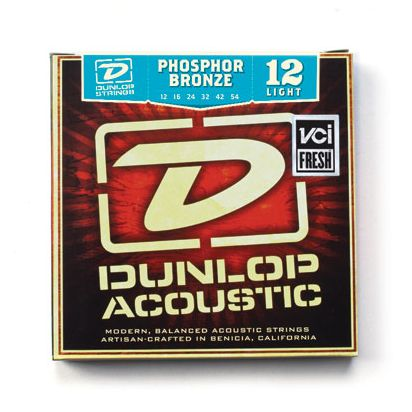 Dunlop Phosphor Bronze, Light, 12-54