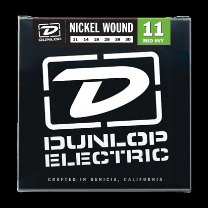 Dunlop Nickel Steel, Medium Heavy, 11-50