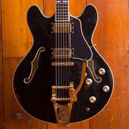 Eastman T59/v Antique Black w/Bigsby LTD