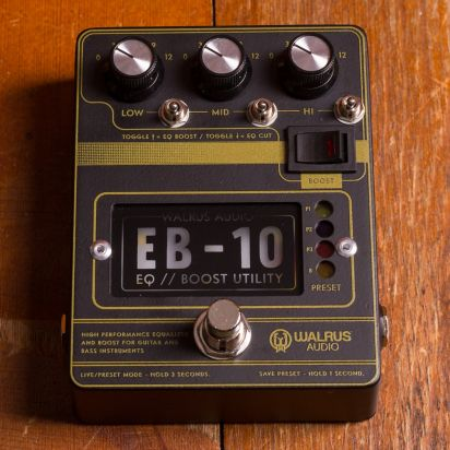 Walrus Audio EB-10 Black