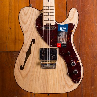 Fender American Elite Telecaster Thinline MN NAT