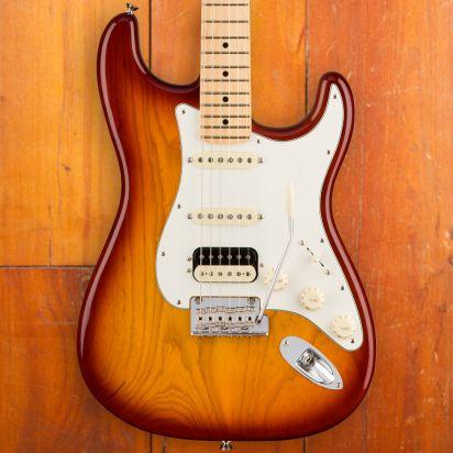 Fender American Pro Strat HSS Shaw MN SSB (Ash)