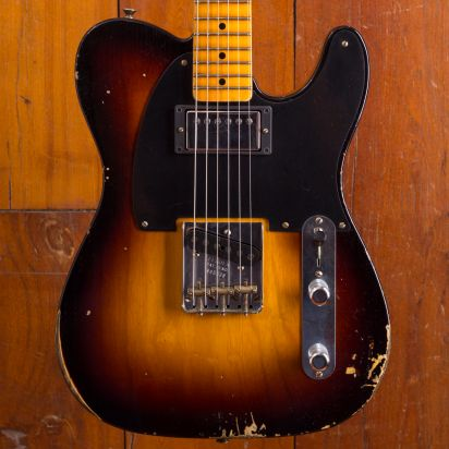 Fender CS LTD 1951 HS TELE REL - WF2SB