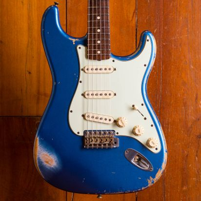 Fender CS 1961 Stratocaster 2009 Lake Placid Blue, Heavy Relic