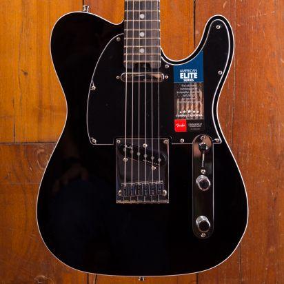 Fender American Elite Telecaster STRKD EB MYSBLK
