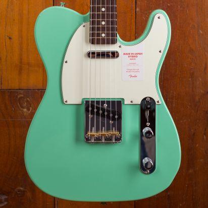 Fender MIJ Hybrid '1960s Tele Sea Foam Green