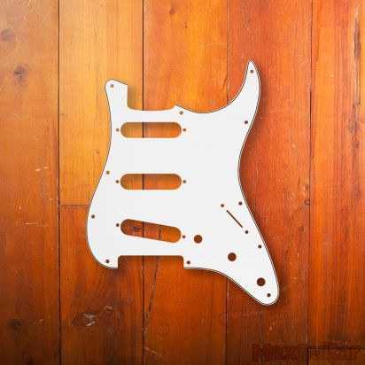 Fender Pickguard, Stratocaster S/S/S, 11-Hole Mount
