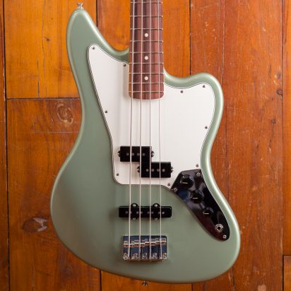 Fender Player Jaguar Bass PF Sage Green Metallic