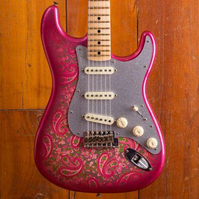 Fender CS Masterdesign 1969 Stratocaster Journeyman Greg Fessler Pink Paisley #CZ536062