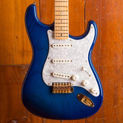 Fender Custom Shop Masterbuilt John Cruz 1955 Stratocaster NOS Strat Blue Burst