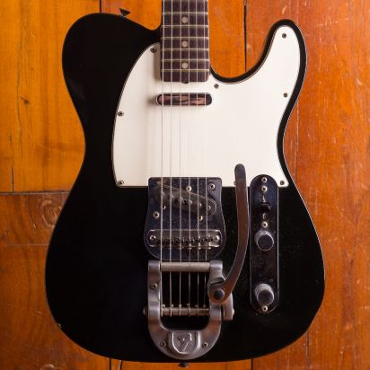 Fender 1968 Telecaster black with Factory Bigsby