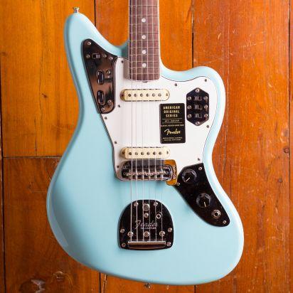 Fender American Original 1960s Jaguar, Rosewood, Daphne Blue