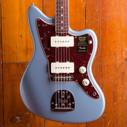 Fender American Original 1960s Jazzmaster Rosewood Ice Blue Metallic