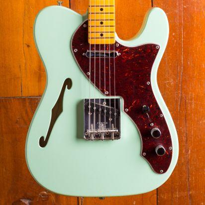 Fender American Original 1960s Tele Thinline, Maple Neck, Seafoam Green