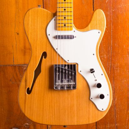 Fender American Original 60s Tele Thinline, Maple Neck, Aged Natural