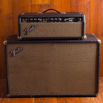 Fender 1966 Bassman Blackface head & cab