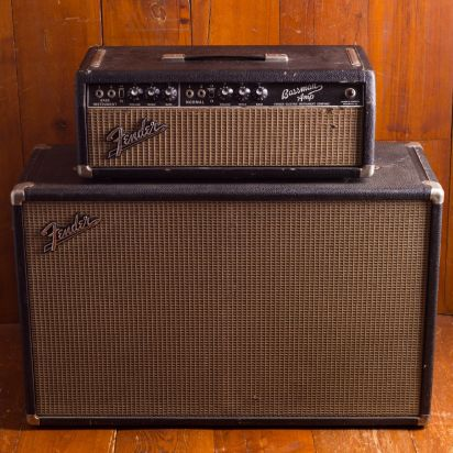 Fender 1965 Bassman Blackface head & cab