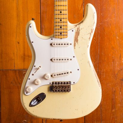 Fender CS 1969 Stratocaster Lefthanded blonde