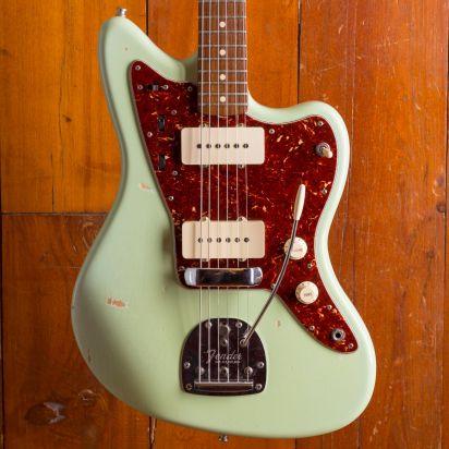 Fender CS Sonic Blue 1962 Jazzmaster Relic, Sonic Blue
