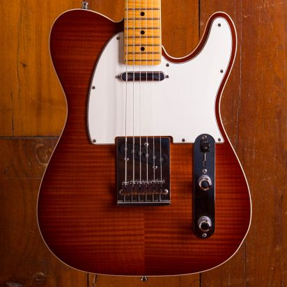 Fender CS American Custom Telecaster Flame Top 2015