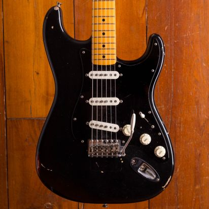 Fender CS David Gilmour Signature Black Strat (SOLD!)