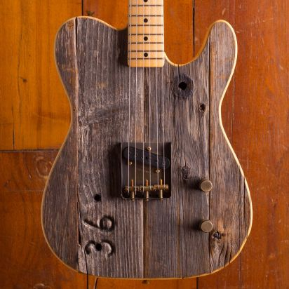 Fender Front Row Legend Esquire Hollywood-Bowl #36, Masterbuilt by Yuriy Shishkov