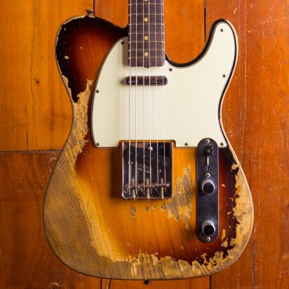 Fender CS NAMM LTD 1963 Telecaster Super Heavy Relic 3TS