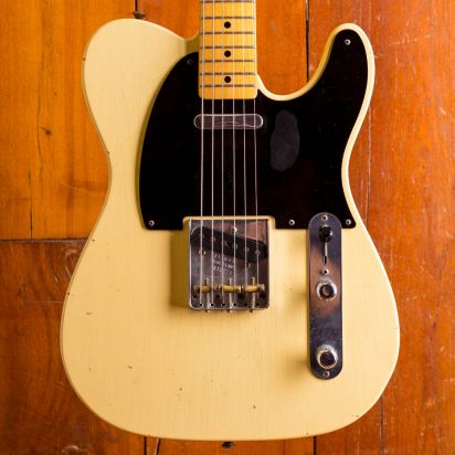 Fender CS 52 Telecaster Journeyman Relic VB MAX LTD