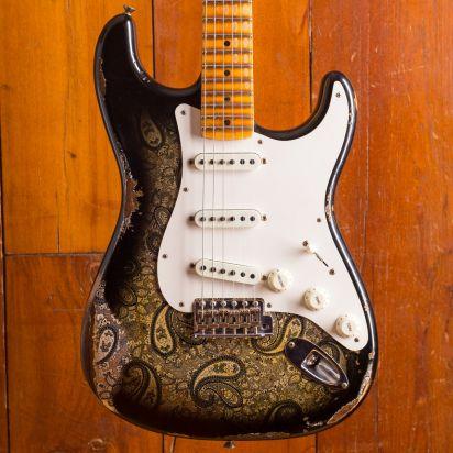 Fender CS NAMM LTD Mischief Maker Heavy Relic Black Paisley