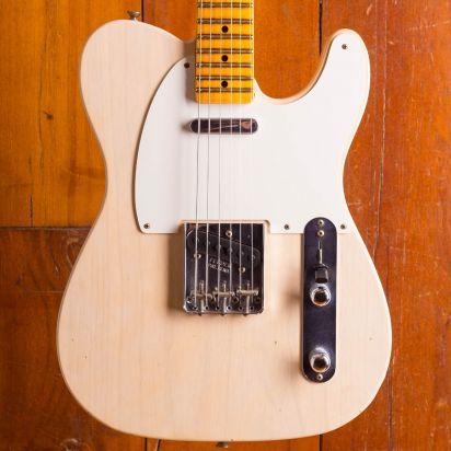 Fender CS NAMM Special 1955 Telecaster Journeyman Aged White Blonde #CZ540458