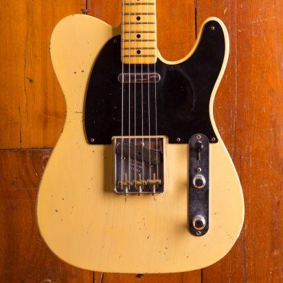 Fender CS 1953 Tele Relic Vintage Blonde