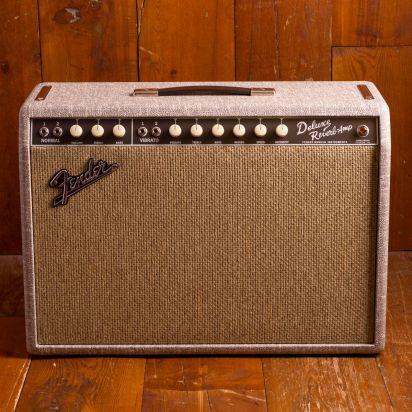 Fender 1965 Deluxe Reverb FSR Fawn, Greenback, 230V EU