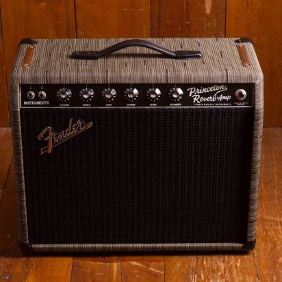 Fender FSR 1965 Princeton Reverb Chilewich Charcoal 1x12