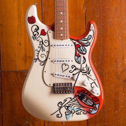 "Fender CS Stratocaster 1962 Jimi Hendrix ""Monterey"""