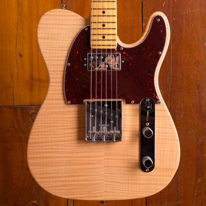 Fender American Rarities Chambered Telecaster Flame Maple Top Natural