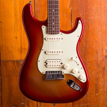 Fender Stratocaster Deluxe RW Sunset Metallic