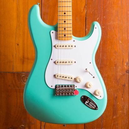 Fender Vintera 1950s Stratocaster, Maple Fingerboard, Sea Foam Green
