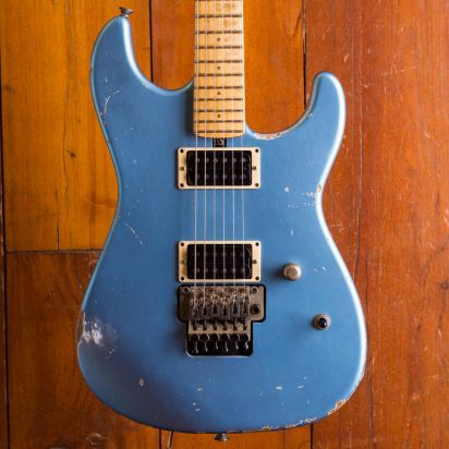 Friedman Cali Guitar, Metallic Blue
