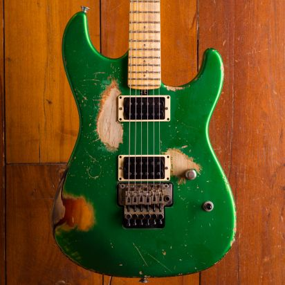 Friedman Cali Guitar Maple Board 3TSB/Candy Green