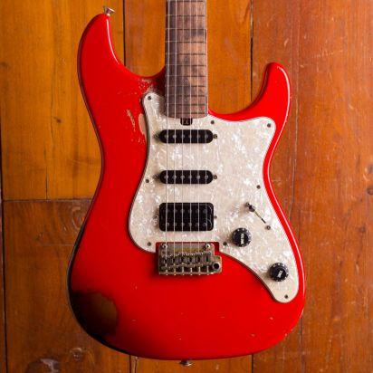 Friedman Vintage-S-ARDBF3TBAPH+SS, Red over 3 Tone Burst