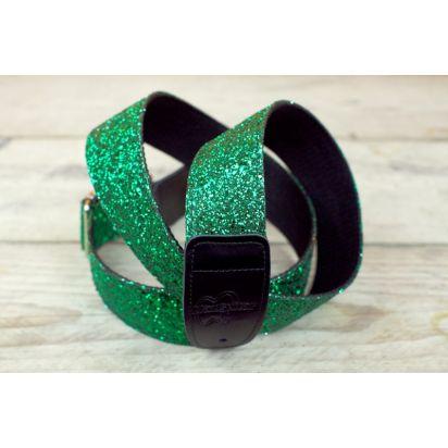 Max Guitar Glitter Green
