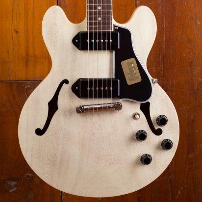 Gibson CS-336 Mahogany TV White Wrap Tail